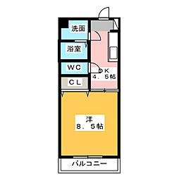 梅の里I[3階]の間取り