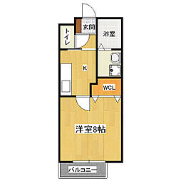 Heights TANAKA site1[2階]の間取り