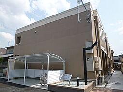 岡山県倉敷市日ノ出町2丁目の賃貸アパートの外観