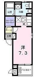 ティアラ旭[2階]の間取り