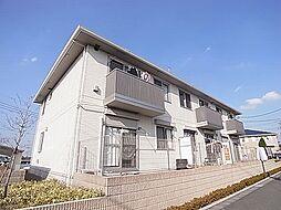 千葉県柏市手賀の杜5の賃貸アパートの外観