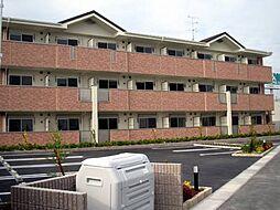 京都府京田辺市東古森の賃貸マンションの外観