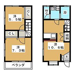 St.Andrew27[2階]の間取り