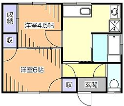 [一戸建] 東京都小平市学園東町3丁目 の賃貸【/】の間取り