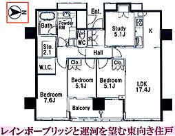 東京都港区港南4丁目の賃貸マンションの外観