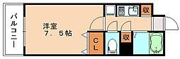 カレッジコート九工大[1階]の間取り