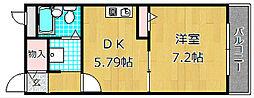 プルミエール大西[2階]の間取り