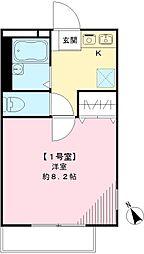 ビレッジタムラ[101号室号室]の間取り