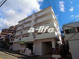 兵庫県神戸市北区鈴蘭台東町5の賃貸マンションの外観