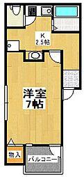 N.L コンフォーティア[1階]の間取り
