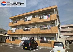 青山マンション[3階]の外観