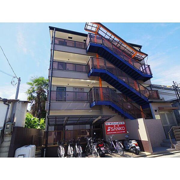 奈良県奈良市大森町の賃貸マンションの外観