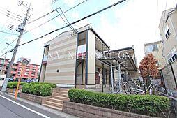 埼玉県川口市北原台1丁目の賃貸アパートの外観