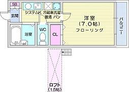 東北福祉大前駅 3.5万円