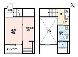 Blossom Meiji[1階]の間取り
