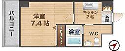 東京都杉並区堀ノ内2丁目の賃貸マンションの間取り