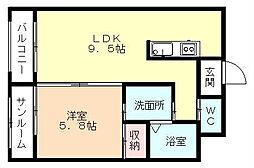 Via・Lattea II[503号室]の間取り
