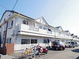 東京都東村山市恩多町1丁目の賃貸アパートの外観