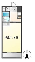 Komodokasa Miwa[6階]の間取り