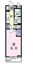 ベル・ドール[212号室号室]の間取り