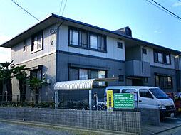 福岡県久留米市国分町の賃貸アパートの外観