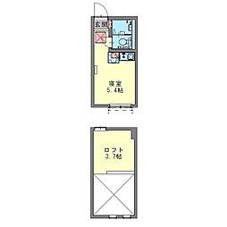 フェリーチェ生田[0202号室]の間取り