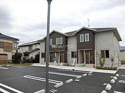 埼玉県上尾市平塚の賃貸アパートの外観