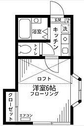 アネックス東川口10期[2階]の間取り