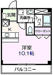 東京都江戸川区江戸川5丁目の賃貸アパートの間取り