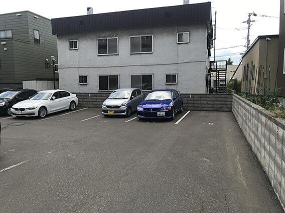 駐車場空きあり