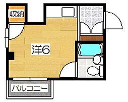マンションASUKA[1階]の間取り