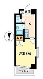 シティライフ名駅[4階]の間取り