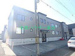 北海道札幌市東区東苗穂六条1丁目の賃貸アパートの外観