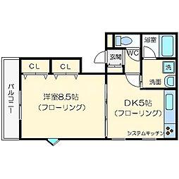 COM HOUSE I[3階]の間取り