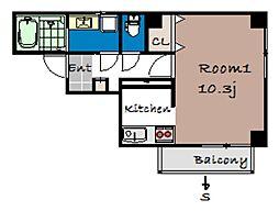 BELLAGIO[2階]の間取り