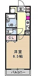 ルイシャトレ21[404号室号室]の間取り