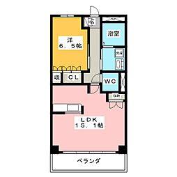 来夢ガーデン[2階]の間取り