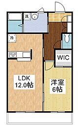 ミルキーウェイ 5[1階]の間取り