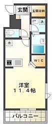GNOME KUNITACHI[1階]の間取り