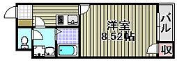 クレイノサンライト[103号室]の間取り
