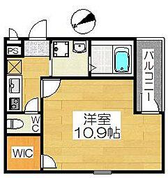 フジパレス浜寺石津III番館[1階]の間取り
