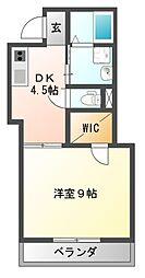 Heights DVG[2階]の間取り