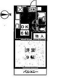 マンションふじ[101号室]の間取り