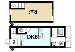 [テラスハウス] 奈良県奈良市高畑町 の賃貸【/】の間取り