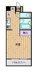 埼玉県さいたま市中央区大字下落合の賃貸マンションの間取り