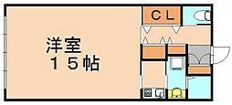 山王ビル8[3階]の間取り