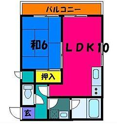 KOMAGATA MATSUI BLDG[6階]の間取り