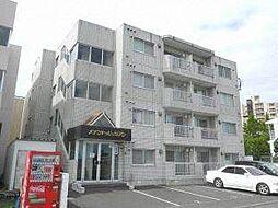 北海道札幌市白石区本郷通9丁目北の賃貸マンションの外観