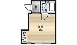メゾン愛花夢十三[2階]の間取り