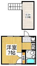 STUDIO2[1階]の間取り